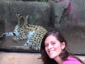 Selfie with the lynx? Or some kind of leopard? Anyone know what cat this is?