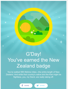 I appreciate that there's a Hobbit hole in the picture for New Zealand