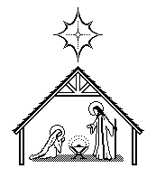 nativity_BW